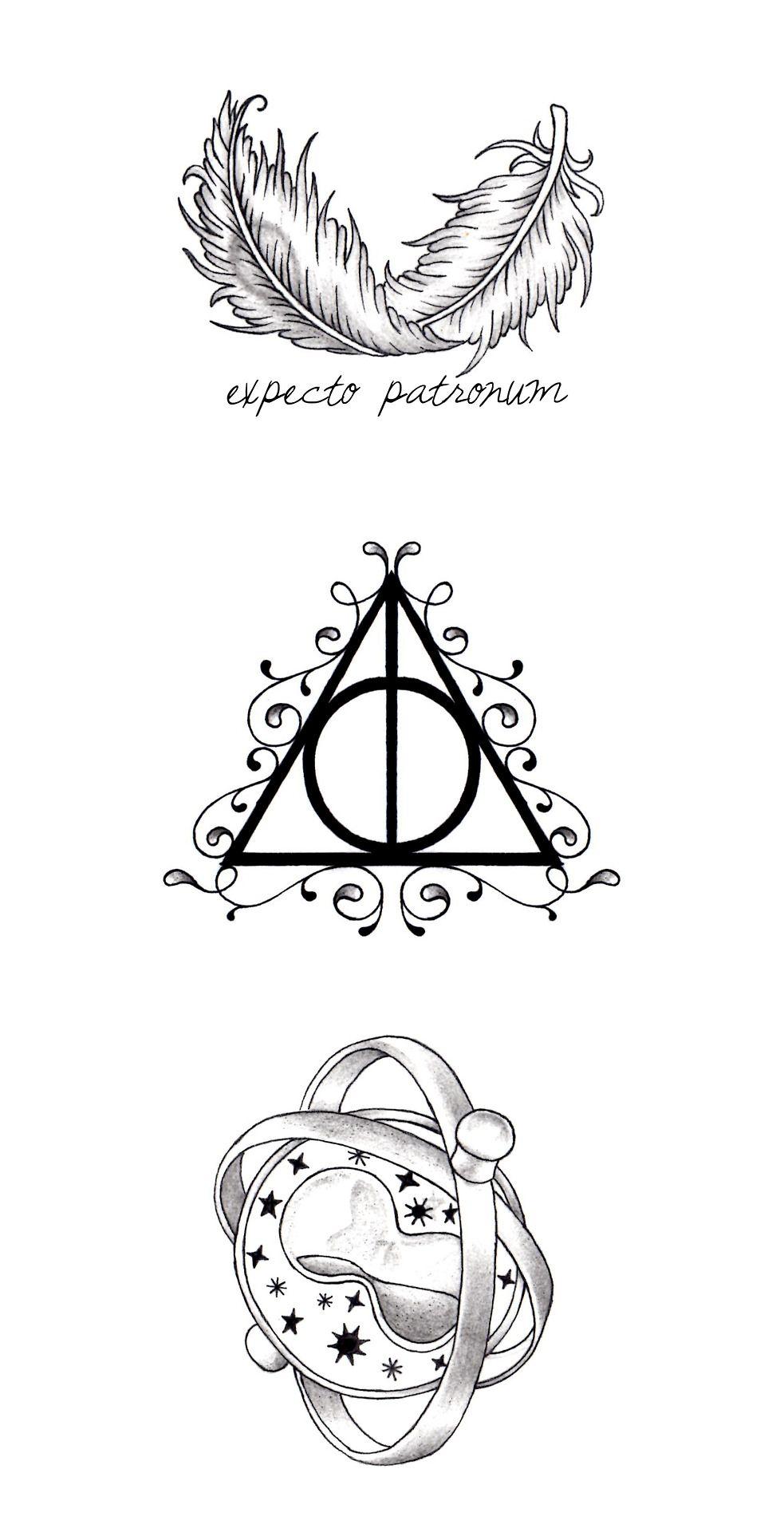 Harry Potter Tatuagens Harry Potter Tatuagem Hp Tatuagens Harry