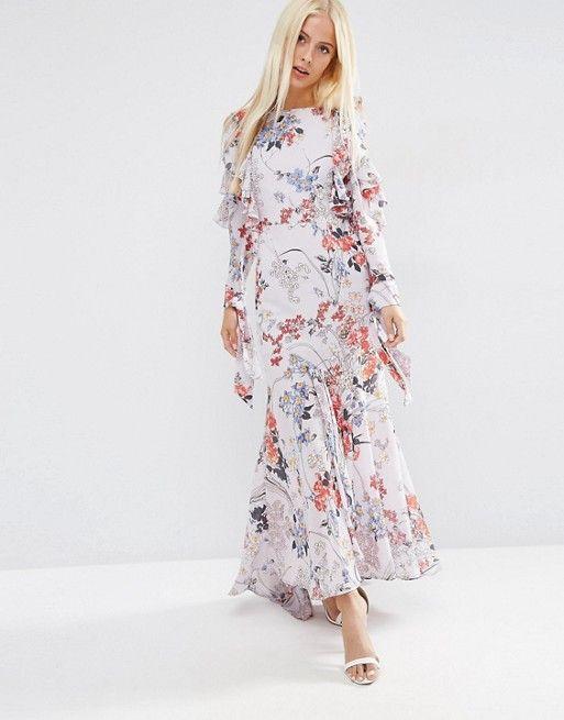Maxi dress long sleeve asos dresses