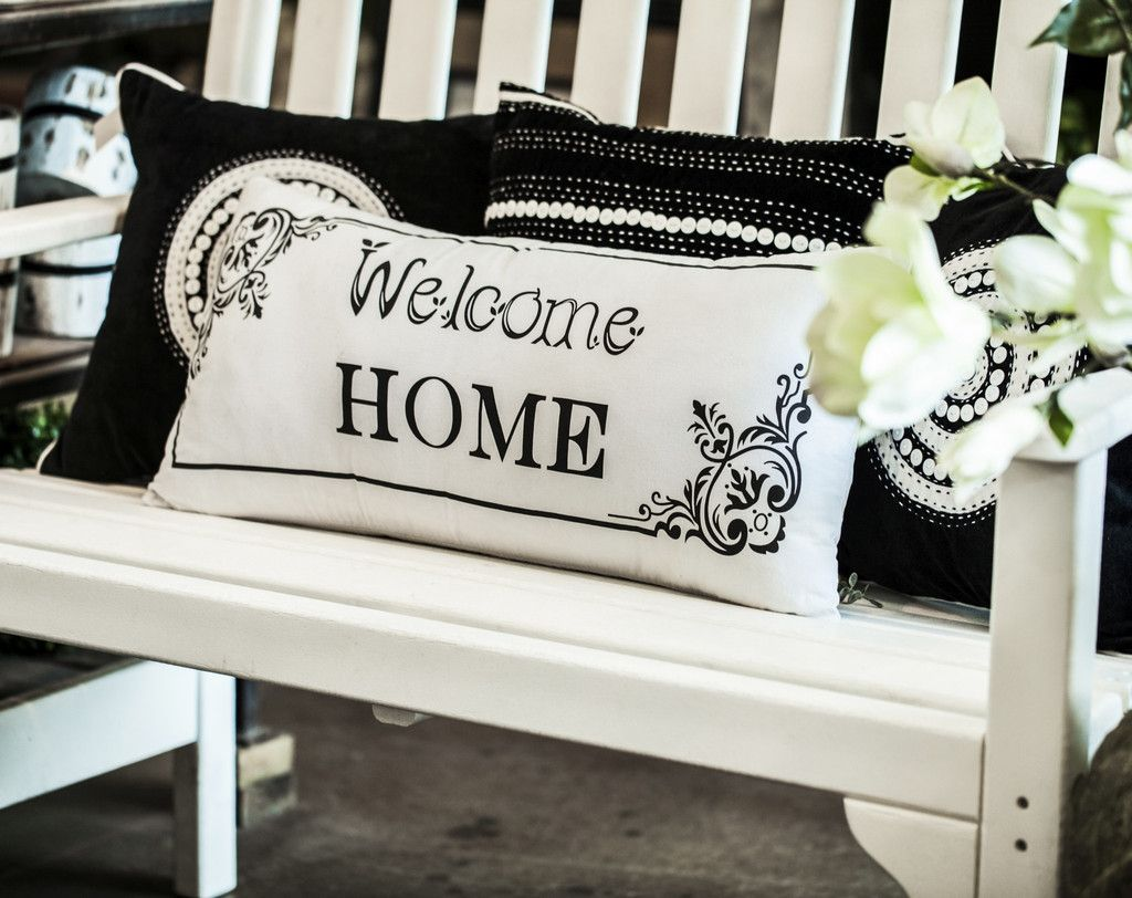 WELCOME HOME PILLOW | Military Strong Throw Pillows | Pinterest ...