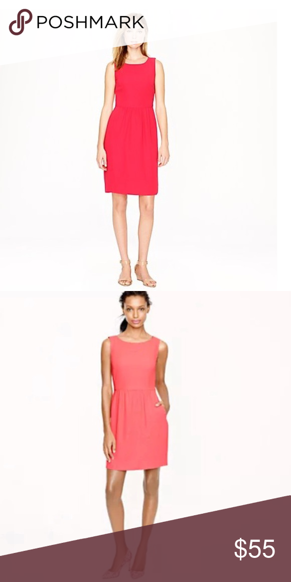 47d9692d72 J. Crew • Camille Tailored Dress Pink 2 - J. Crew - Camille