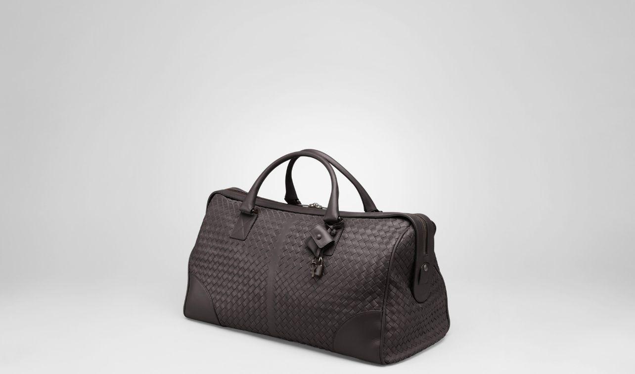 Bottega Veneta®|Ebano Intrecciato VN Medium Duffel|Holiday or weekend bag|Travel