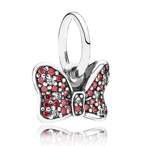 5fef894f7 ... Buy Minnie Mouse Sparkling Bow Charm By Disney Pandora Charms Discount  from Reliable Minnie Mouse Sparkling ...