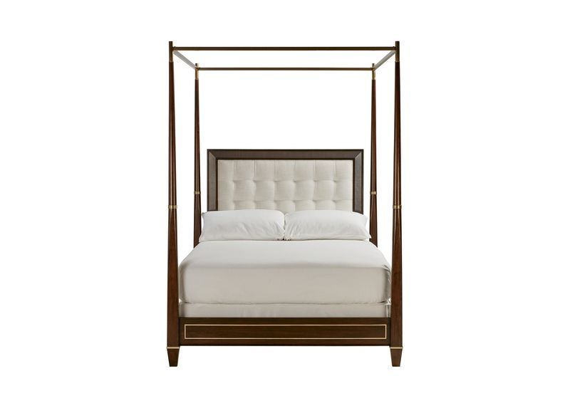 Regency Mirrored Canopy Bed The Mirrored Bed Company Canopy Bed