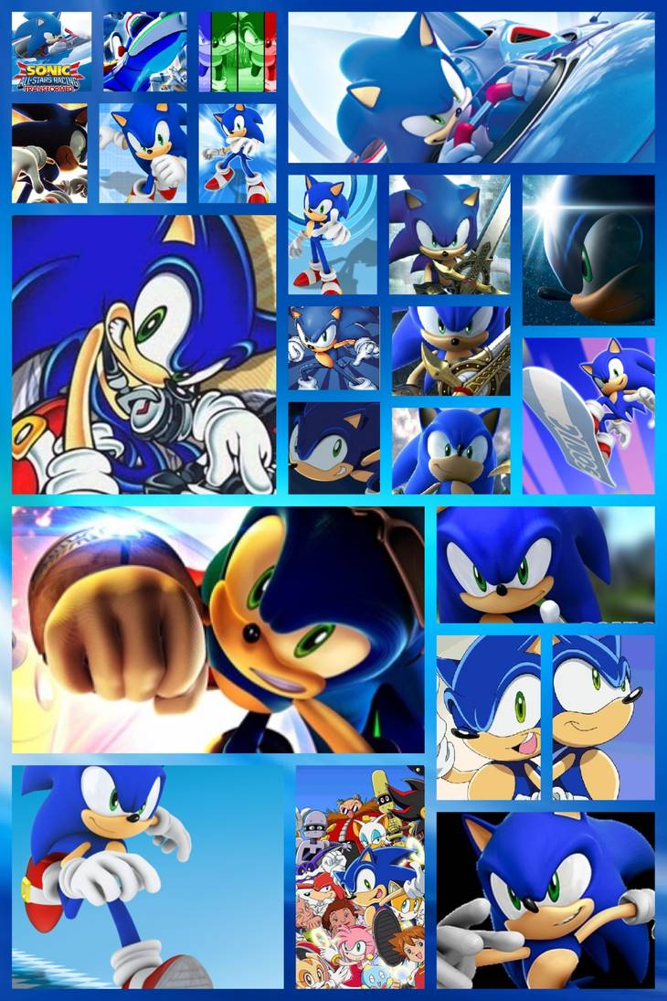 Sonic Wallpapers By Princessemerald7 On Deviantart Sonic Sonic The Hedgehog Sonic Fan Characters