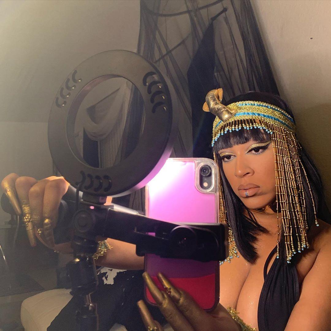 Ready set Action! cleopatra makeup artist mua goddess