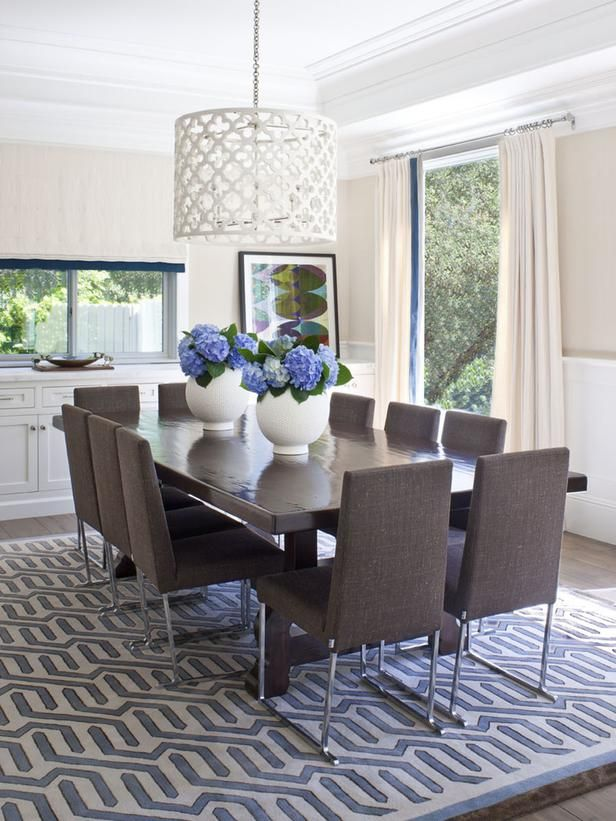 Contemporary Family Dining Room Family Dining Rooms Modern