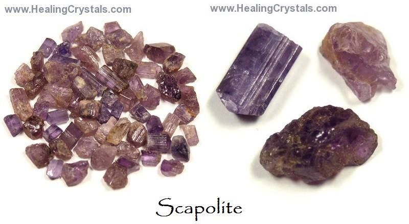 Scapolite is a crystal for problem-solving and taking