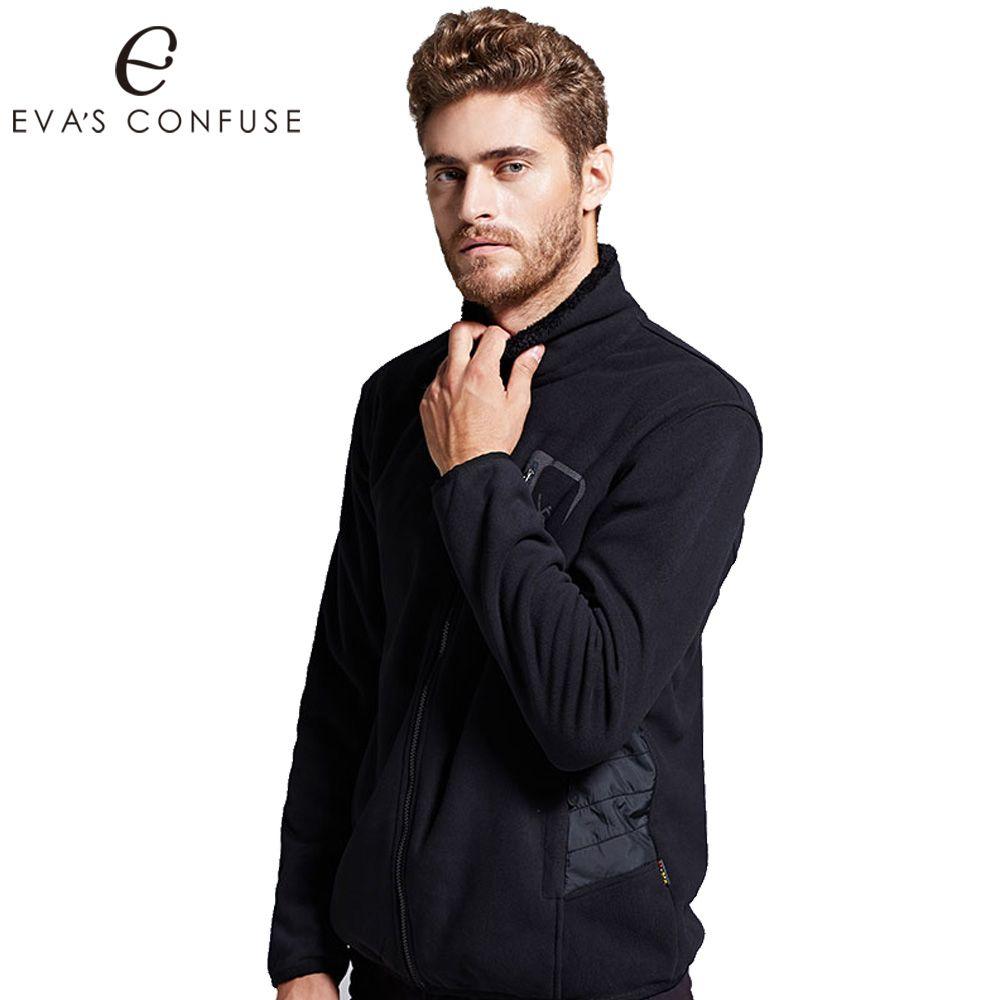 casual jackets men spring sweatshirt thermal coats military