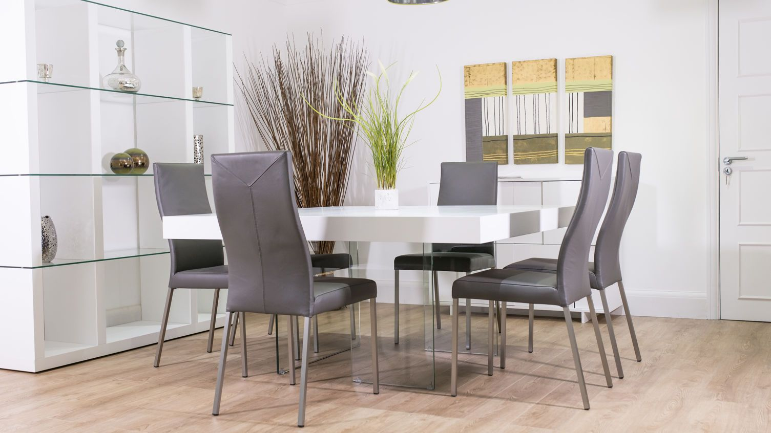 8 Seater Square White Table - Google Search