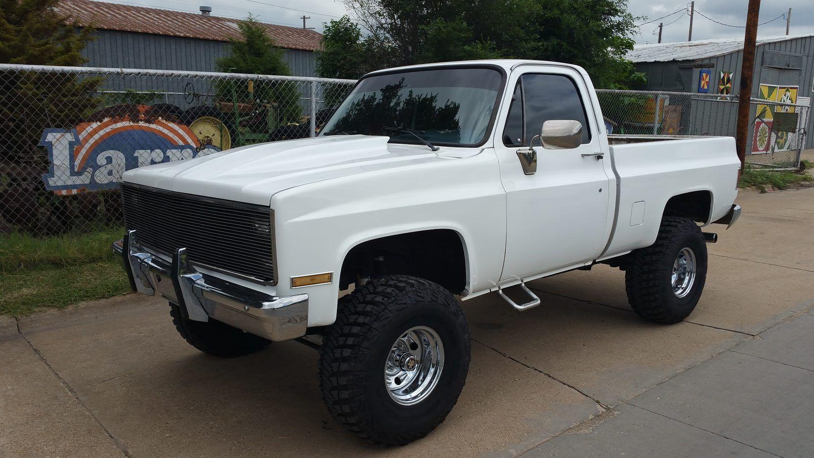 1986 Chevrolet K1500 Pickup Short Bed 4 Wheel Drive Lot S62 Denver 2016 Mecum Auctions Chevrolet Mecum Auction Monster Trucks