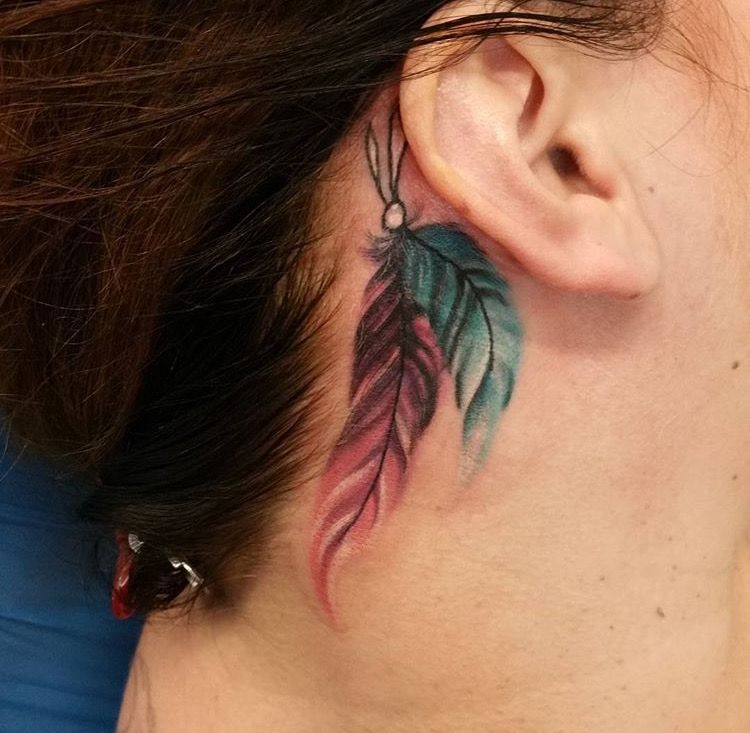 Feather Tat Indian Feather Tattoos Cowgirl Tattoos Writing Tattoos