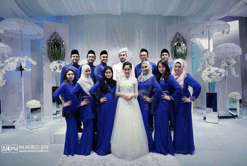 46 Foto Baju Bridesmaid Navy Blue Paling Unik