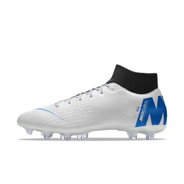 quality design 203e1 29dc4 Nike Mercurial Superfly VI Academy MG iD Multi-Ground Soccer Cleat Soccer  Boots, Football