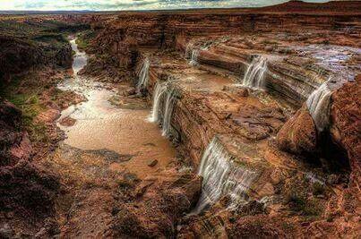 Grand Falls,  Northern Arizona