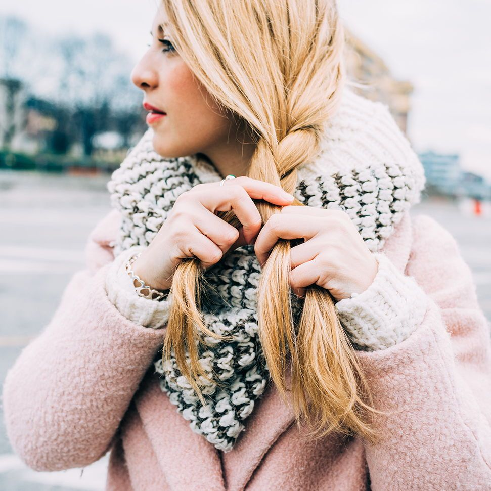 6 Steps to Fabulous Winter Hair (With images) Winter