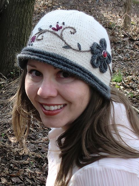Cloche Encounter pattern by Caroline Steinford | knitting ...