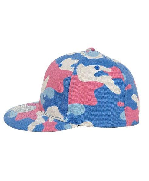 Wide Flat Brim cap