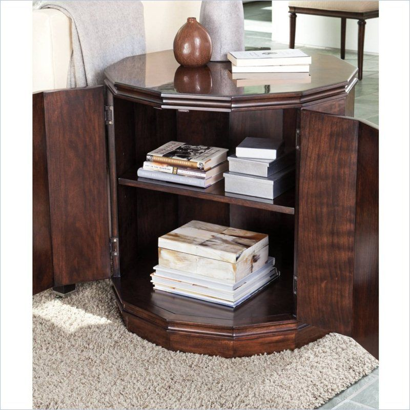 Avalon Heights-Marlowe Drum Table in Chelsea - 193-15-13 - Living ...