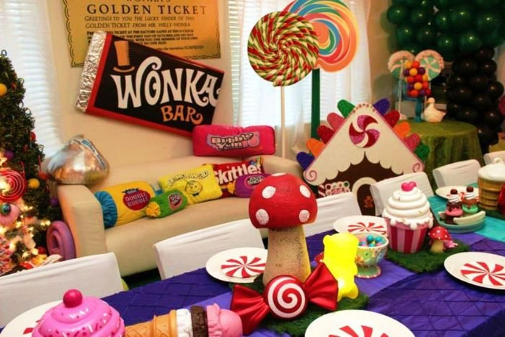 Christmas Theme Party Ideas Part - 34: Willy Wonka Themed Party Ideas