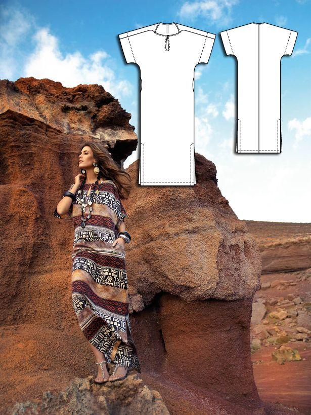 Sahara Dreams: 6 New Women\'s Sewing Patterns   Nähen für Anfänger ...