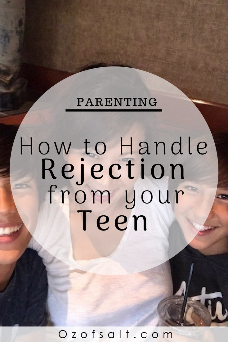 How to handle rejection from your teen. teen angst is real! I have a few  tips on how best to handle those hard situations where you are just not  connecting ...