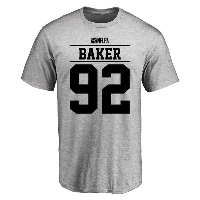 Chris Baker Player Issued T-Shirt - Ash