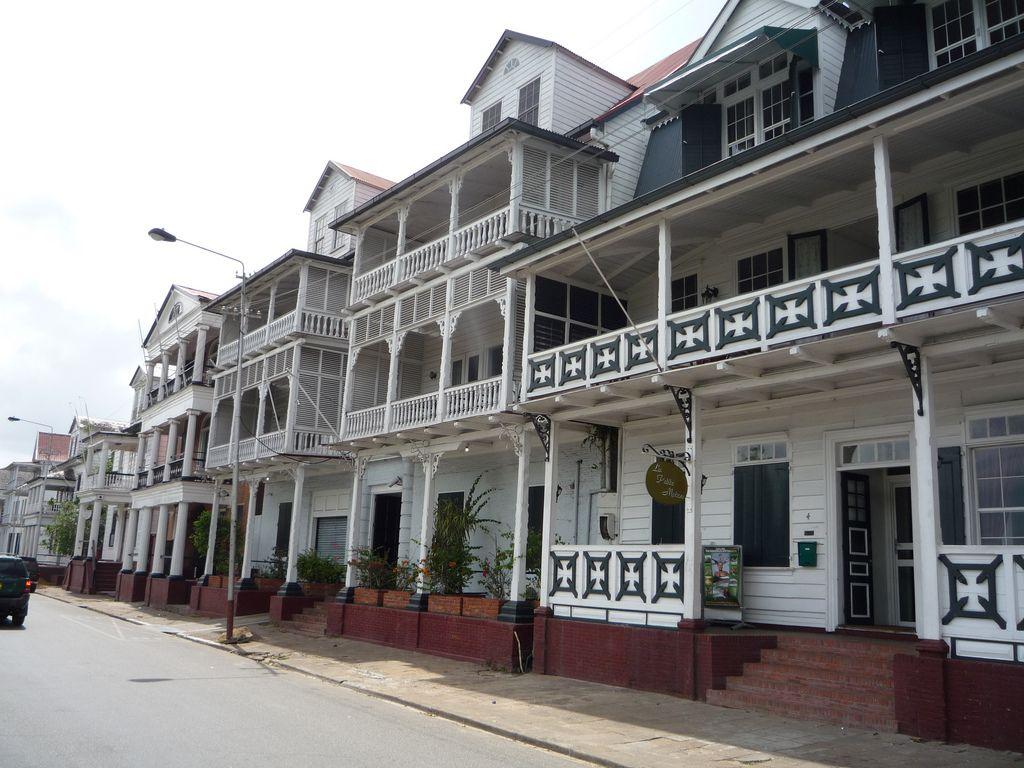 Dutch Caribbean South American Colonial City of Paramaribo Dutch