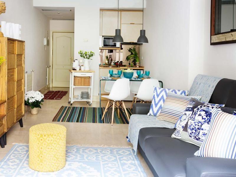 Salones peque os que parecen grandes peque o sof for Salones pequenos blancos