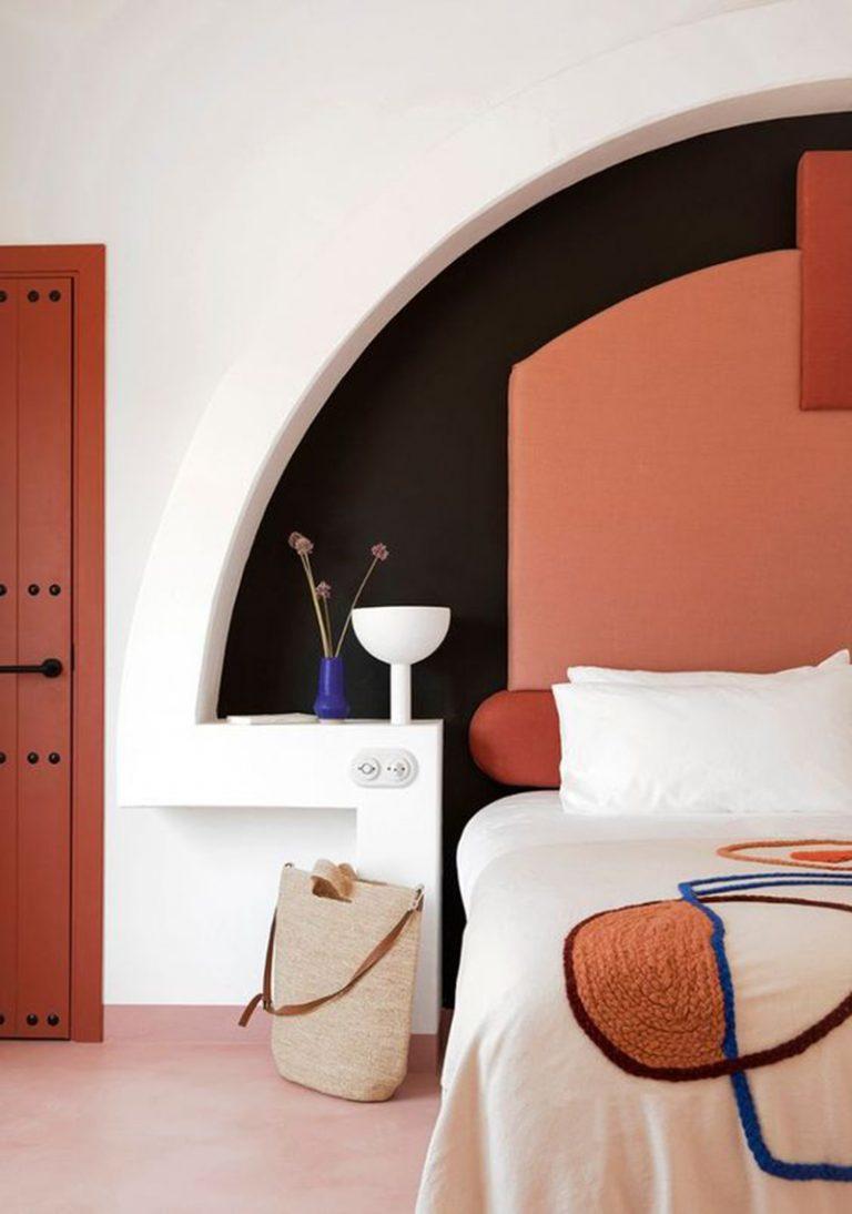 Painted Circle Headboards Hotels Design Interior Design