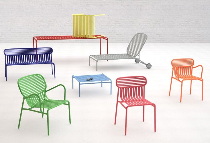 Amazing Color Theory: Stackable Outdoor Furniture From The South Of France
