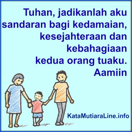 Sandaran Kedua Orangtua Kata Mutiara Azalea M Mutiara Dan Sandaran