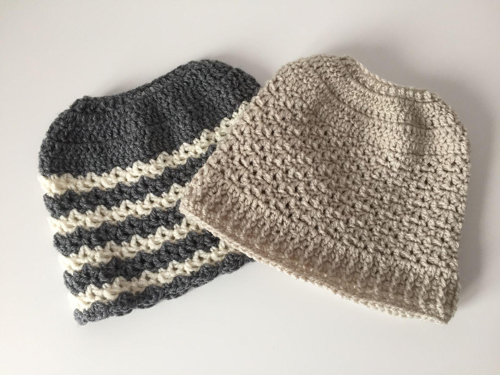 Ravelry: Dutch messy bun beanie by Ingrid Geerings   bun hats ...