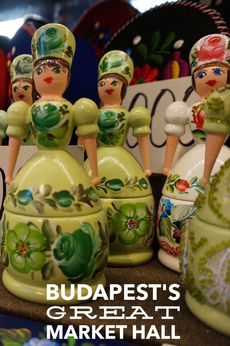 Traditional Hungarian Souvenirs At Budapest S Central