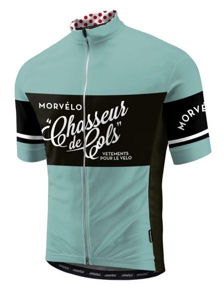 Morvélo Chasseurs de Cols  retro  wielershirt 2015  35ca14102