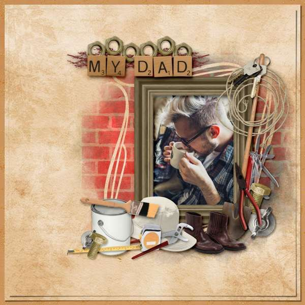 Collections :: M :: My Dad by Zesty Designs :: My Dad - The Kit
