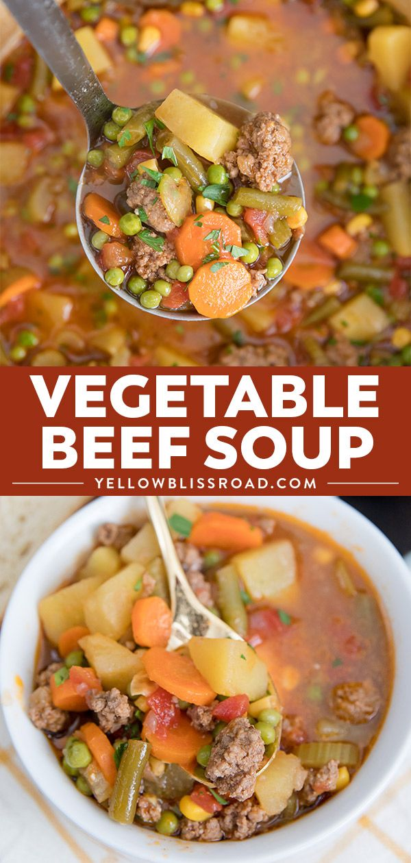 Smoky Vegetable Beef Soup images