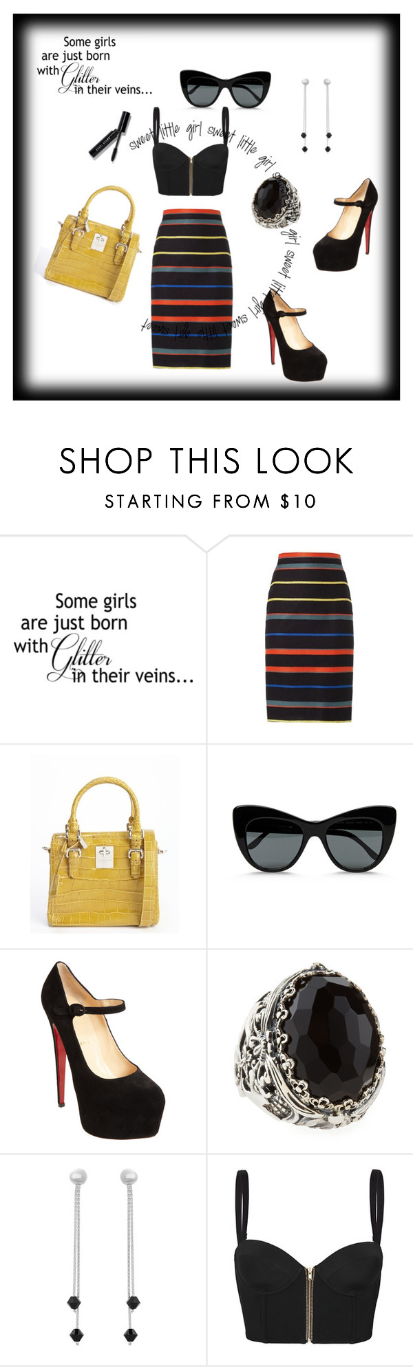 3. Some Girls Are Just... by kohlanndesigns on Polyvore featuring sass & bide, Givenchy, Christian Louboutin, Giorgio Armani, Konstantino, Sterling Essentials, STELLA McCARTNEY, Bobbi Brown Cosmetics, polyvorecommunity and outfitswithatwist