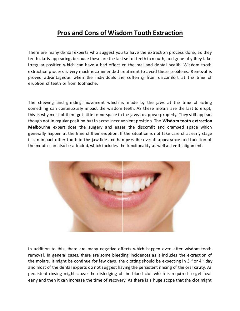 You need to have the surgery and wants some expert #wisdom #tooth ...