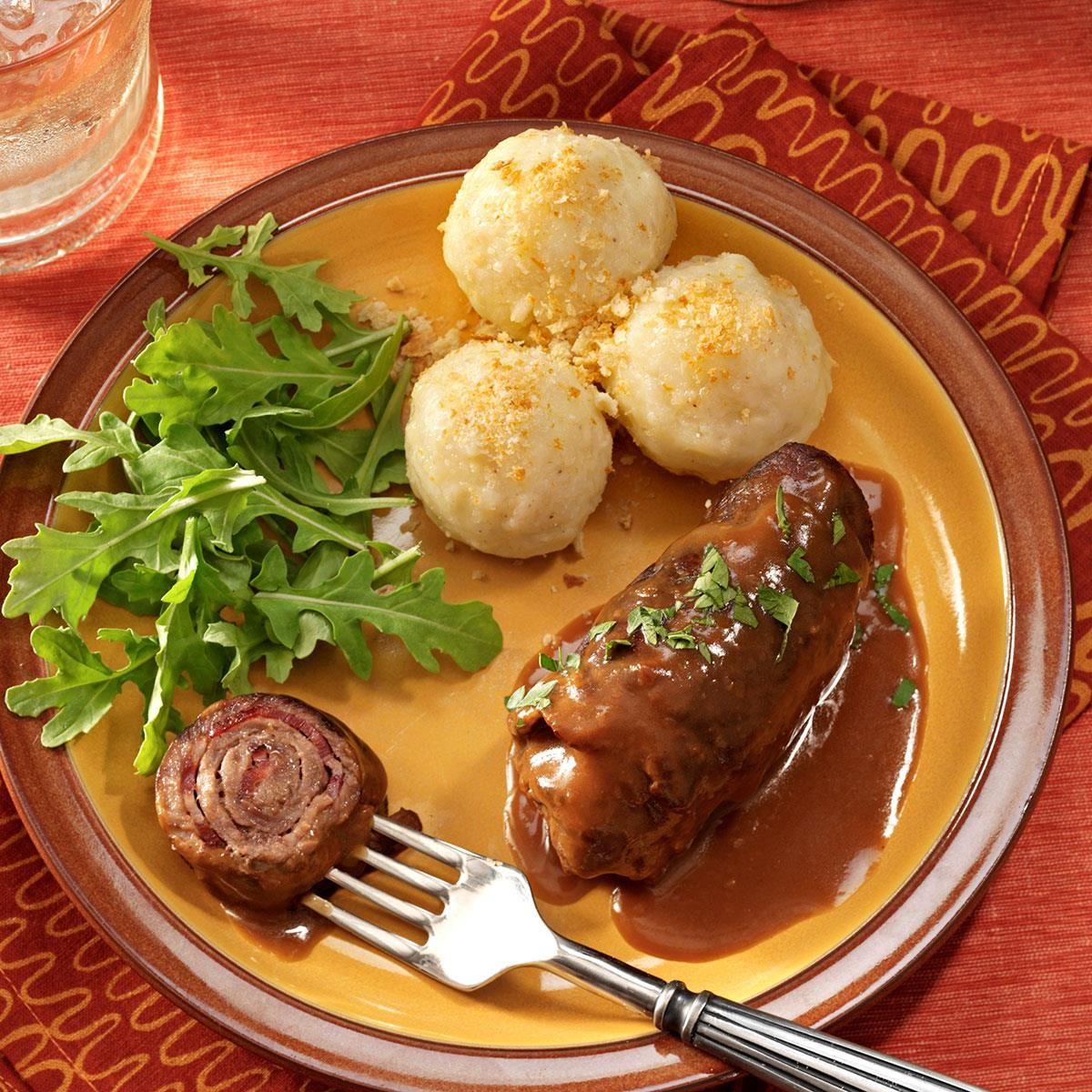 Beef Rouladen | Rezept | Pinterest | Deutsche küche, Die deutschen ...