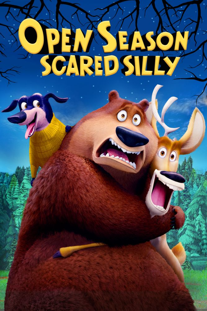 Open Season Scared Silly Poster Artwork Garry Chalk