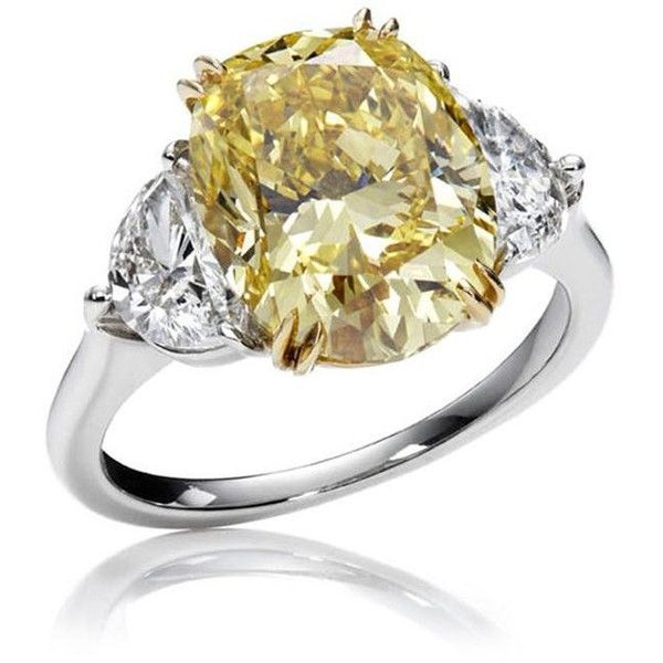 Harry Winston Yellow Diamond Ring /Blair Waldorf   Haute ...