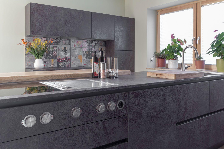 bora professional kochfeld stilvoll eingelassen in metallic schimmernder keramik von vidrostone. Black Bedroom Furniture Sets. Home Design Ideas