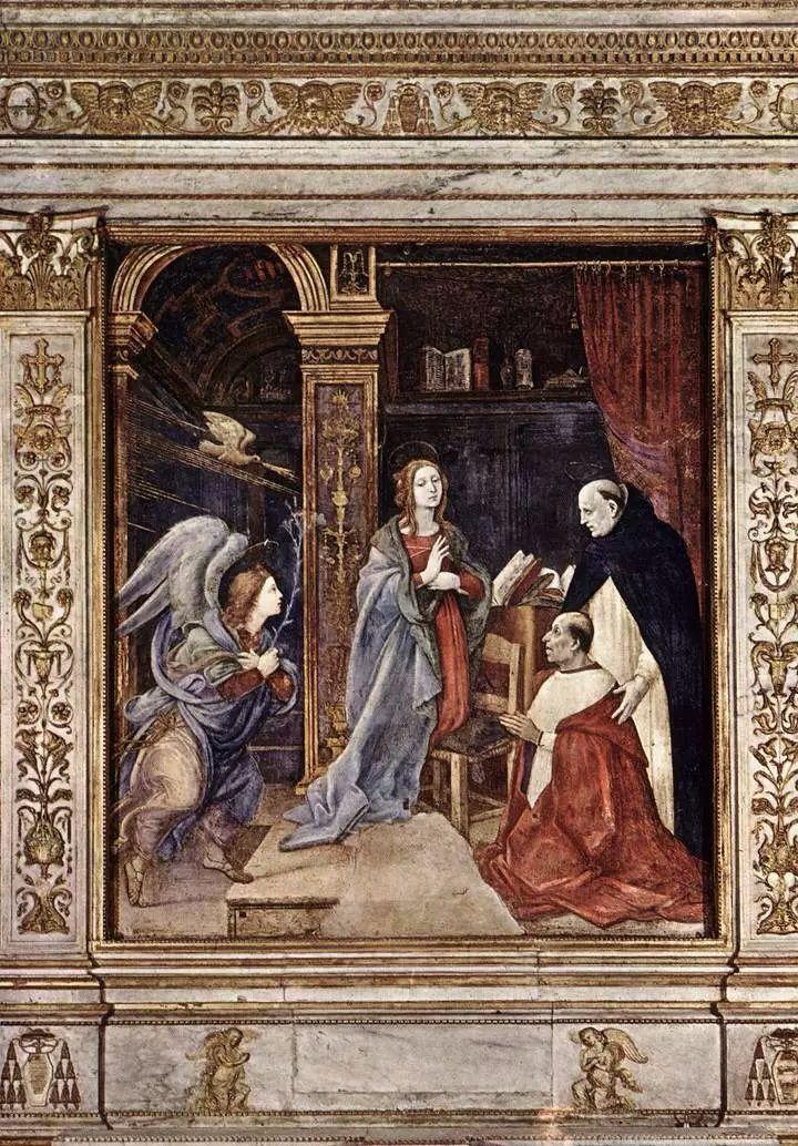 Filippino Lippi   chapelle Carafa, église Sainte-Marie de la Minerve de Rome.