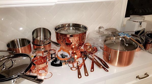 Kylie Jenner Splurges on New Copper Kitchen Tools — Worth a Cool $2,700