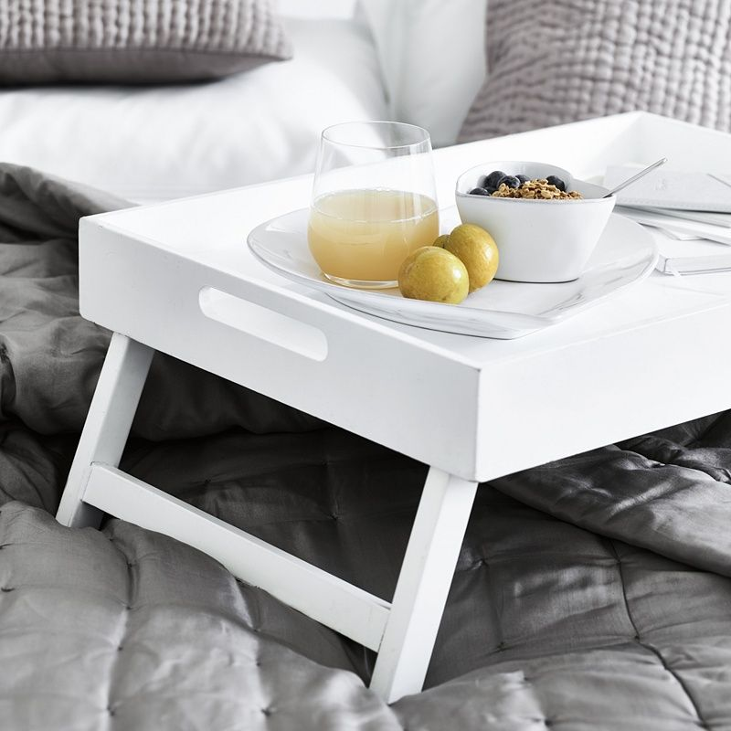 Breakfast In Bed Tray Kitchen Accessories The White Company Uk Bed Tray Breakfast In Bed Bed Table