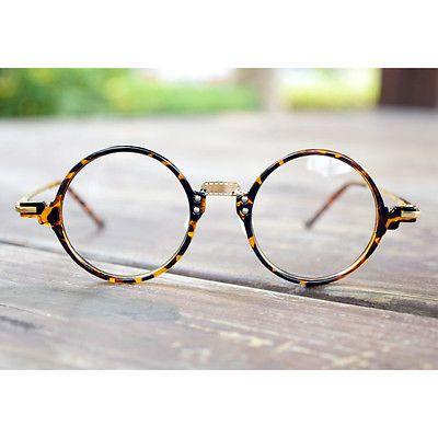 1920s Classic oliver rétro lunettes rondes 30R10 Leopard eyewear cadres  findhoon c0ec7d75bd80