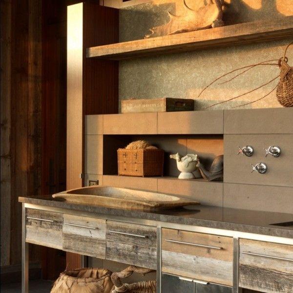 Rustikal Moderne Küche