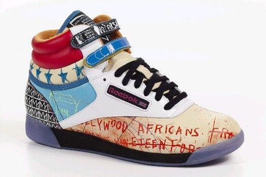 REEBOK Free Style Basquiat & Rolland Berry design 25ème