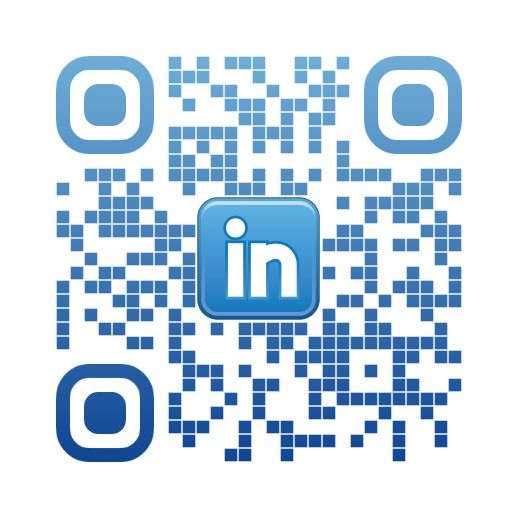 Linkedin custom QR code by Nicole Pyles @BeingTheWriter using the - linkedin resume generator