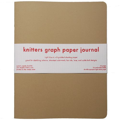 Ooo, yes! Knitter\'s graph paper IS different from regular graph ...